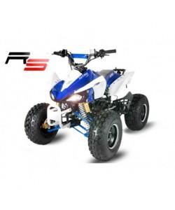 Carénage Bleu et blanc pour les quads Carbone 110 / 125 cc