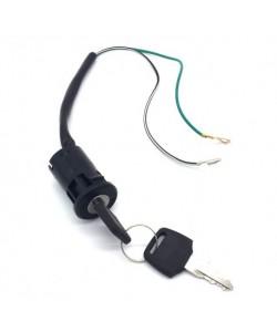 Neiman / Contacteur à clé 2 fils Pocket bike type 2