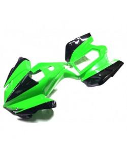 Carénage pocket vert / noir quad PYTHON ou CARBONE