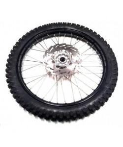 "Roue 21"" avant  + disque Dirt bike 250 cc"