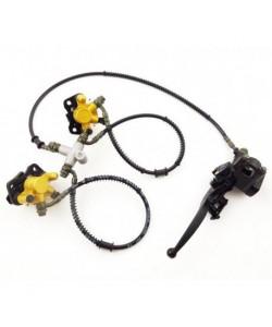 Kit de frein à disques AVANT pour quad 110 / 125 cc