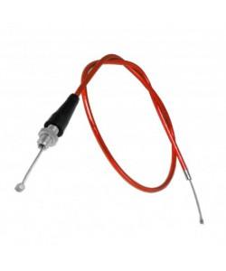 Cable d'accélérateur Rouge à tirage rapide dirt bike / quad