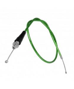 Cable d'accélérateur Vert à tirage rapide dirt bike / quad