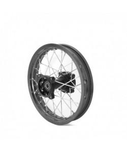 """Jante 12"""" arrière renforcée axe 12mm Dirt bike / Pit bike"""