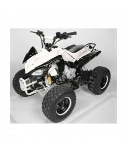 Carénage Blanc et noir pour les quads Carbone 110 / 125 cc