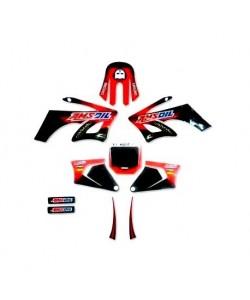 Kit déco Dirt bike AMSOIL pour AGB 27/orion/sohoo/99