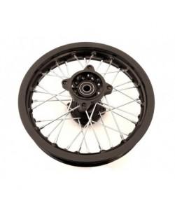 """Jante 12"""" arrière renforcée axe 12 mm dirt bike / pit bike"""