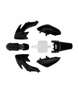 Carénage dirtbike /pitbike type CRF 50 NOIR