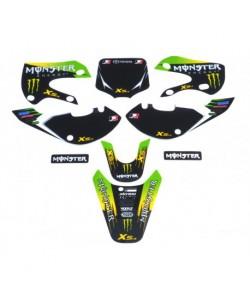 Kit déco KLX Monster vert